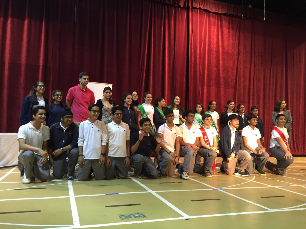 DELF Ceremony Choueifat International School Dubai SABIS 2015