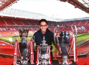 Mahdi Bashash United Kingdom UK Manchester United Stadium