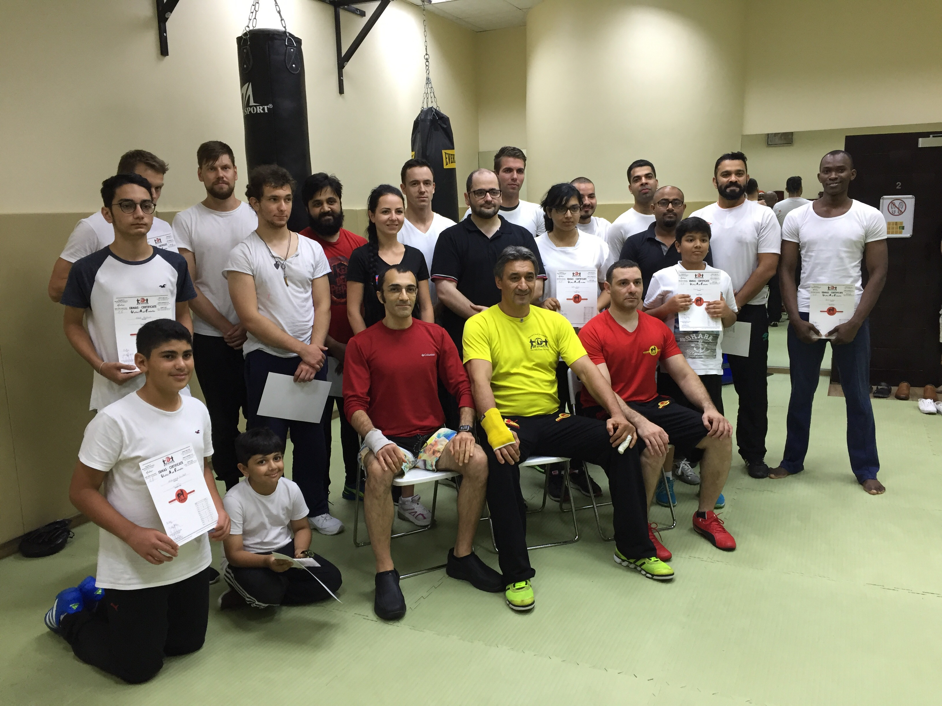 Martial Arts Dubai Mahdi Bashash