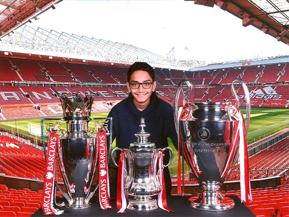 Mahdi Bashash United Kingdom UK Manchester United Stadium